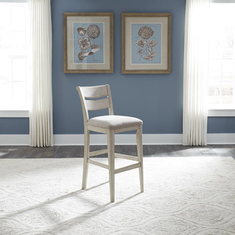 Liberty Farmhouse Reimagined 30 Inch Ladder Back Barstool
