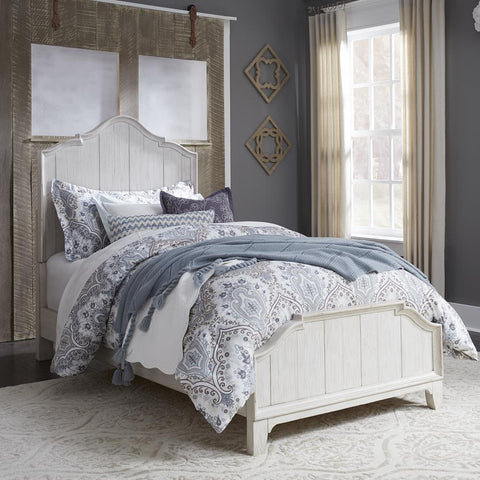 Liberty Farmhouse Reimagined Full Panel Bed