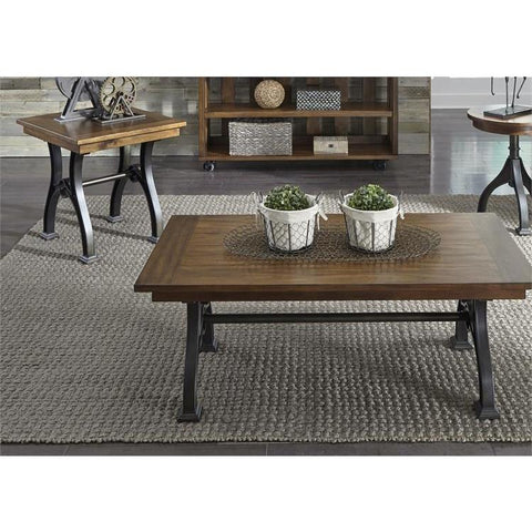 Liberty Furniture Arlington House 3 Piece Coffee Table Set