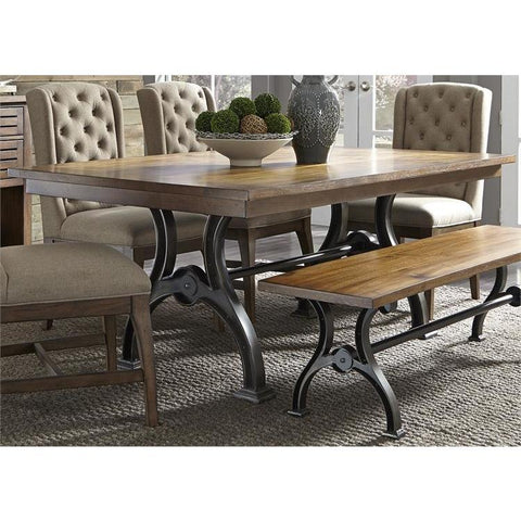 Liberty Furniture Arlington House Trestle Dining Table