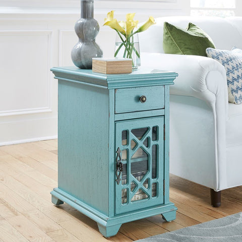 Liberty Furniture Ashvale 1 Drawer 1 Door Accent Cabinet