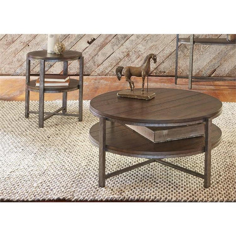 Liberty Furniture Breckinridge 3 Piece Coffee Table Set