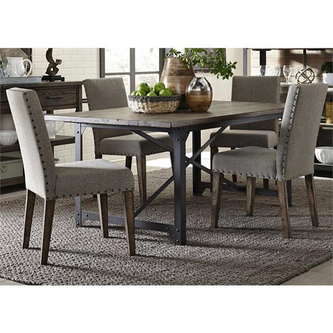 Liberty Furniture Caldwell 5 Piece Rectangular Table Set