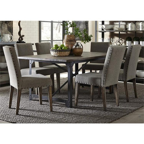 Liberty Furniture Caldwell 7 Piece Rectangular Table Set