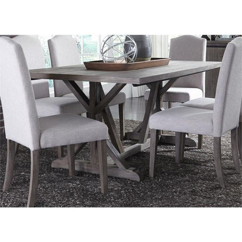 Liberty Furniture Carolina Lakes Trestle Dining Table