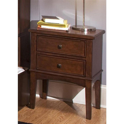 Liberty Furniture Chelsea Square Night Stand in Burnished Tobacco