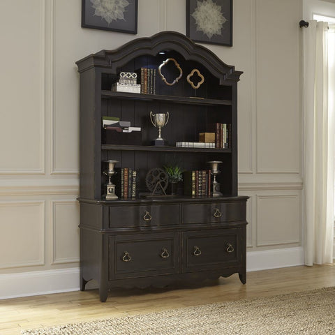 Liberty Furniture Chesapeake Credenza w/Hutch
