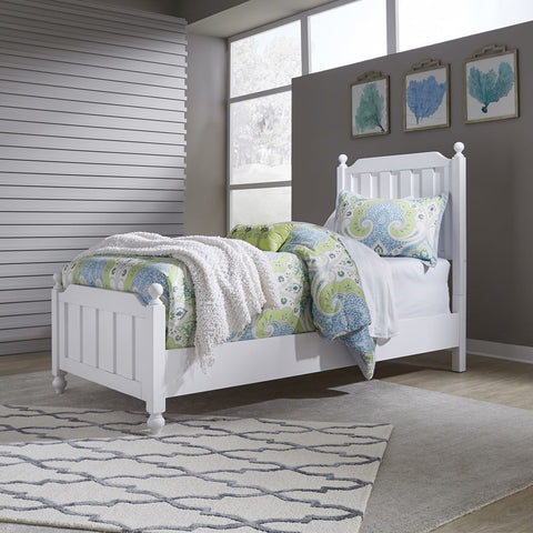 Liberty Furniture Cottage View Panel Bed in White