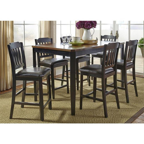 Liberty Furniture Devonwood 7 Piece Gathering Table Set