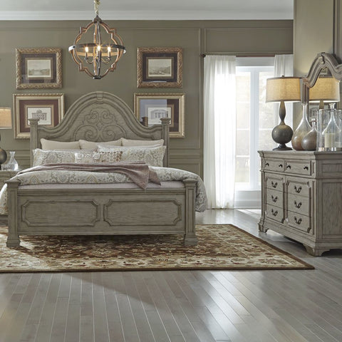 Liberty Furniture Grand Estates 2 Piece Queen Poster Bedroom Set