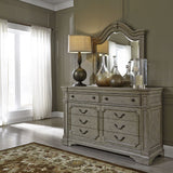 Liberty Furniture Grand Estates 3 Piece Queen Poster Bedroom Set w/Nightstand