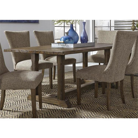 Liberty Furniture Havenbrook Trestle Dining Table