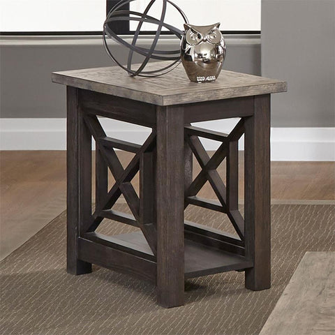 Liberty Furniture Heatherbrook Chair Side Table
