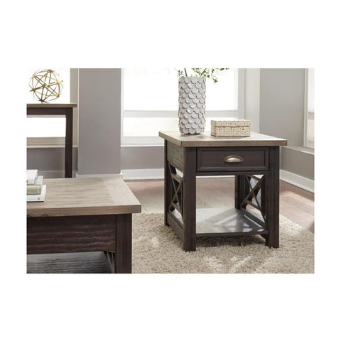 Liberty Furniture Heatherbrook Drawer End Table