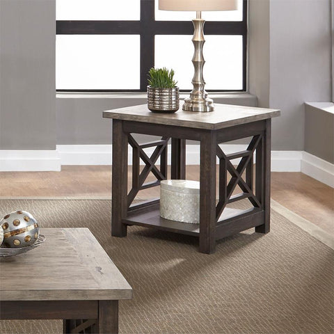 Liberty Furniture Heatherbrook End Table