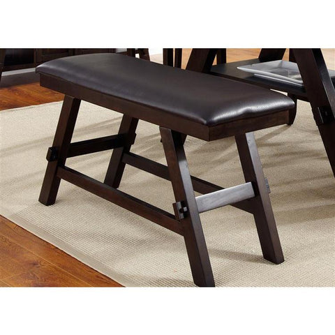 Liberty Furniture Lawson Counter Bench in Light & Dark Expresso Finish