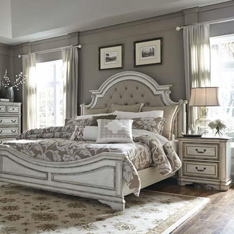 Liberty Furniture Magnolia Manor 2 Piece Upholstered Bedroom Set