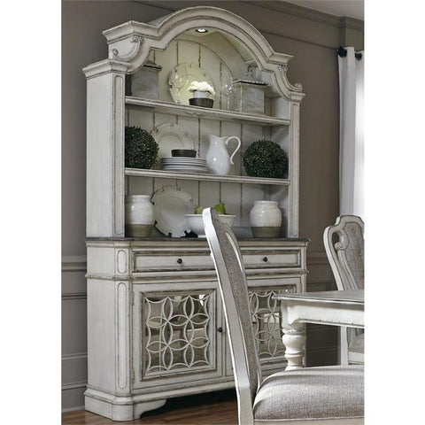 Liberty Furniture Magnolia Manor Hutch & Buffet