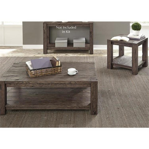 Liberty Furniture Mercer Court 3 Piece Coffee Table Set