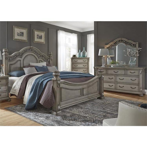 Liberty Furniture Messina Estates 3 Piece Poster Bedroom Set