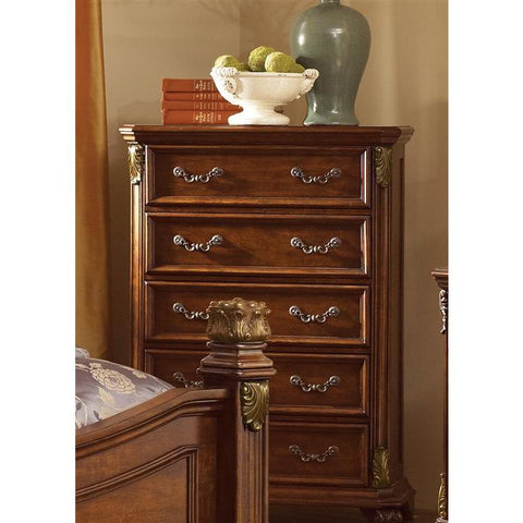Liberty Furniture Messina Estates 5 Drawer Chest in Cognac Finish