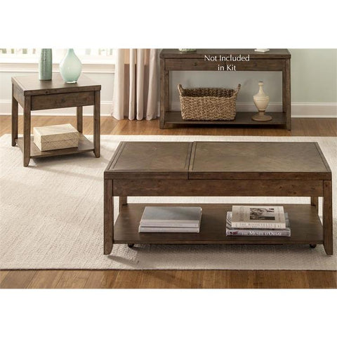 Liberty Furniture Mitchell 3 Piece Coffee Table Set