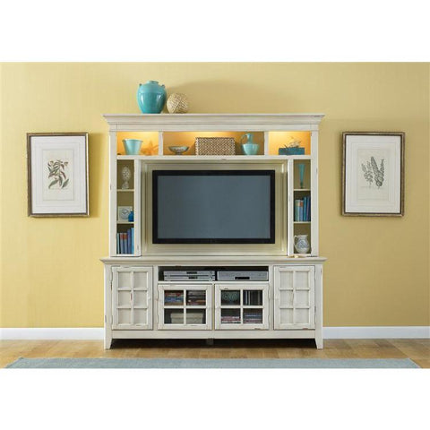 Liberty Furniture New Generation Entertainment Center in Cream Finish