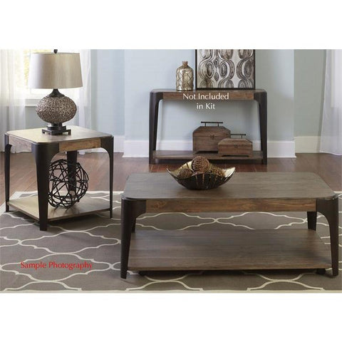 Liberty Furniture Sapphire Lakes 3 Piece Rectangular Coffee Table Set