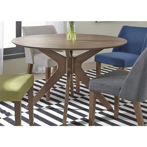 Liberty Furniture Space Savers Round Pedestal Dining Table