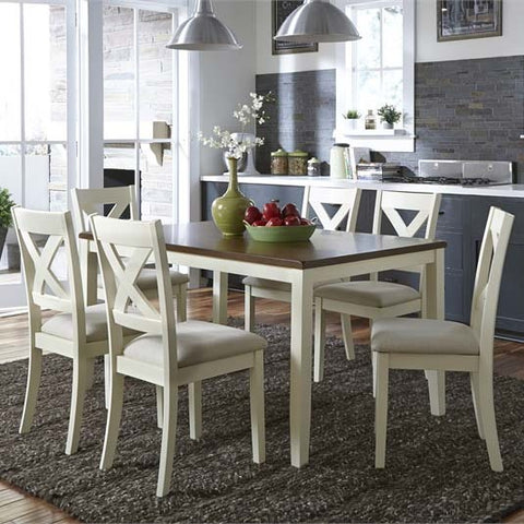 Liberty Furniture Thornton 7 Piece Rectangular Dining Table Set