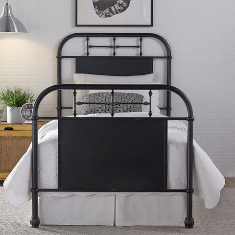 Liberty Furniture Vintage Series Metal Bed - Black