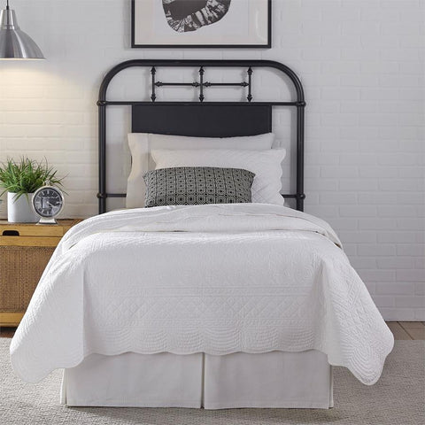 Liberty Furniture Vintage Series Metal Headboard - Black