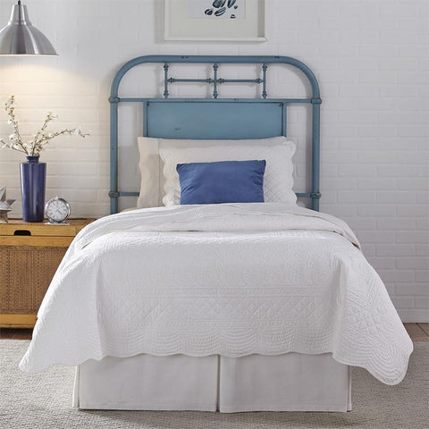 Liberty Furniture Vintage Series Metal Headboard - Blue