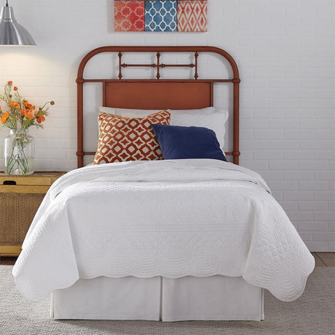 Liberty Furniture Vintage Series Metal Headboard - Orange