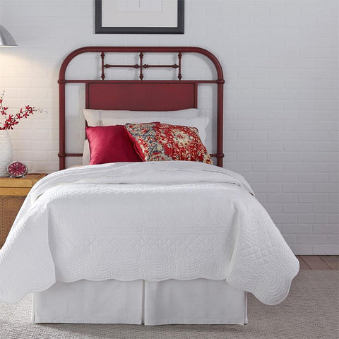 Liberty Furniture Vintage Series Metal Headboard - Red