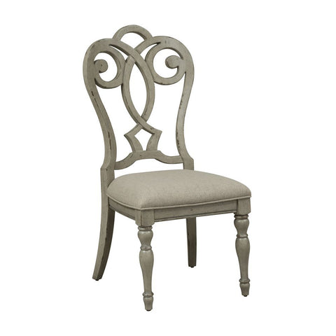 Liberty Grand Estates Splat Back Uph Side Chair
