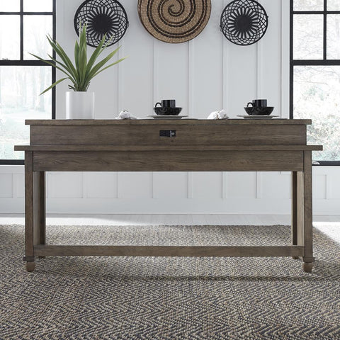 Liberty Harvest Home Console Bar Table