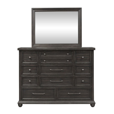 Liberty Harvest Home Dresser & Mirror