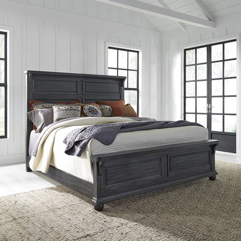 Liberty Harvest Home King Panel Bed