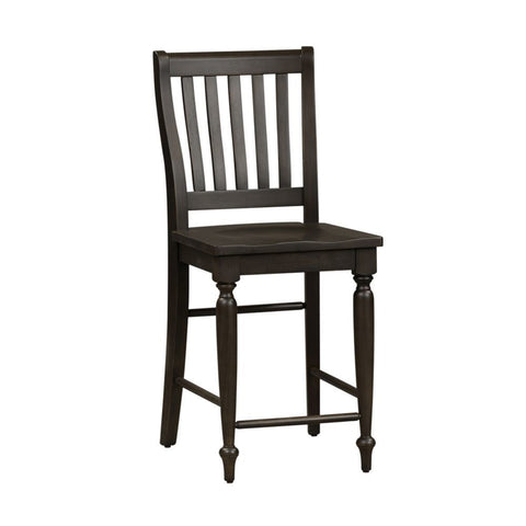Liberty Harvest Home Slat Back Counter Chair
