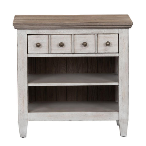Liberty Heartland 1 Drawer Night Stand w/ Charging Station