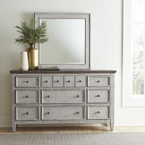 Liberty Heartland Dresser & Mirror