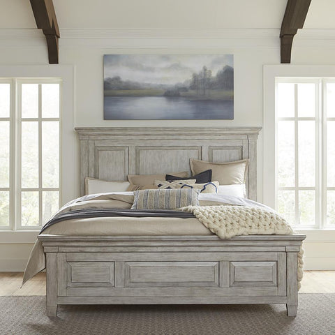 Liberty Heartland King Panel Bed