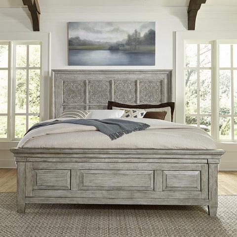 Liberty Heartland Opt Queen Panel Bed