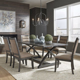Liberty Highland Creek 7 Piece Trestle Table Set