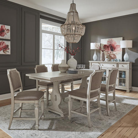Liberty Low Country 7 Piece Gathering Table Set