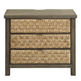 Liberty Modern Farmhouse 3 Drawer Accent Night Stand