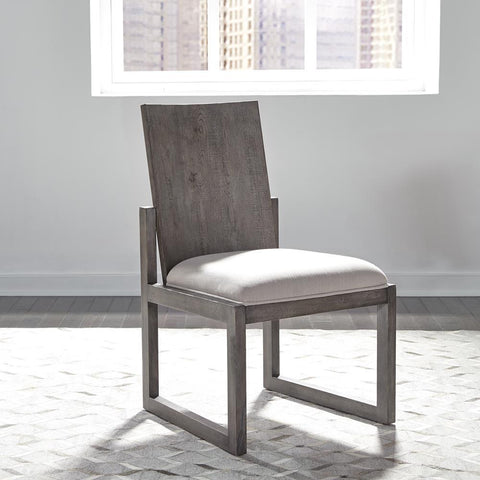 Liberty Modern Farmhouse Panel Back Side Chair
