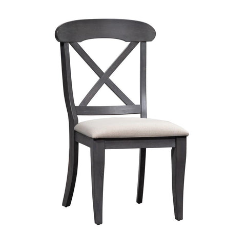 Liberty Ocean Isle Upholstered X Back Side Chair