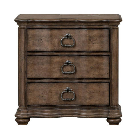 Liberty Parisian Marketplace 3 Drawer Night Stand w/ Charging Station